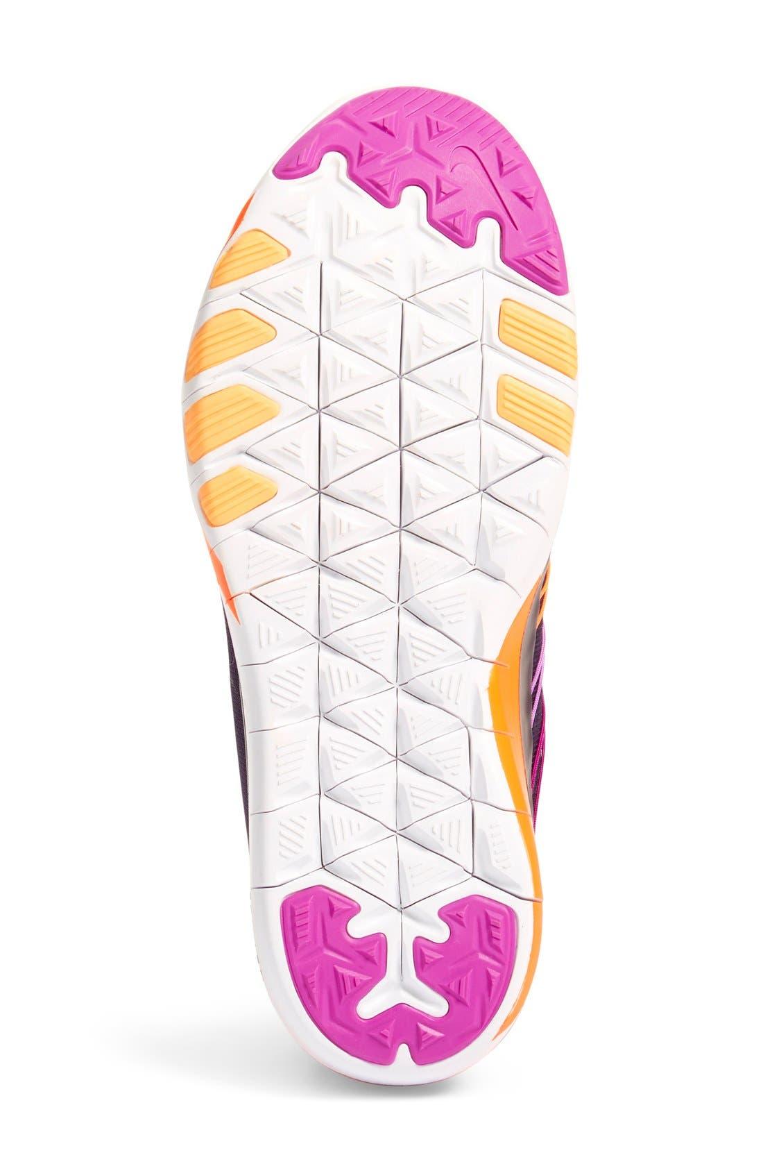 Free TR Fit 6 Training Shoe,                             Alternate thumbnail 4, color,                             Violet/ White/ Crimson