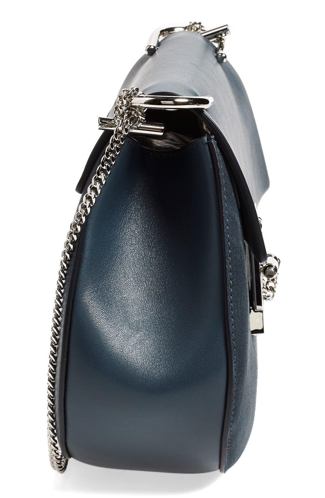 Alternate Image 4  - Chloé Small Drew Leather & Suede Shoulder Bag
