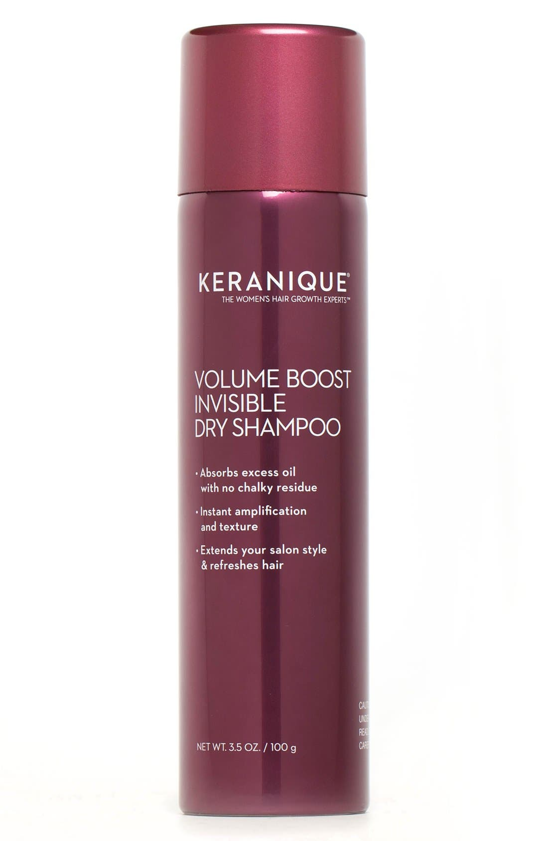 Keranique Invisible Boost Dry Shampoo