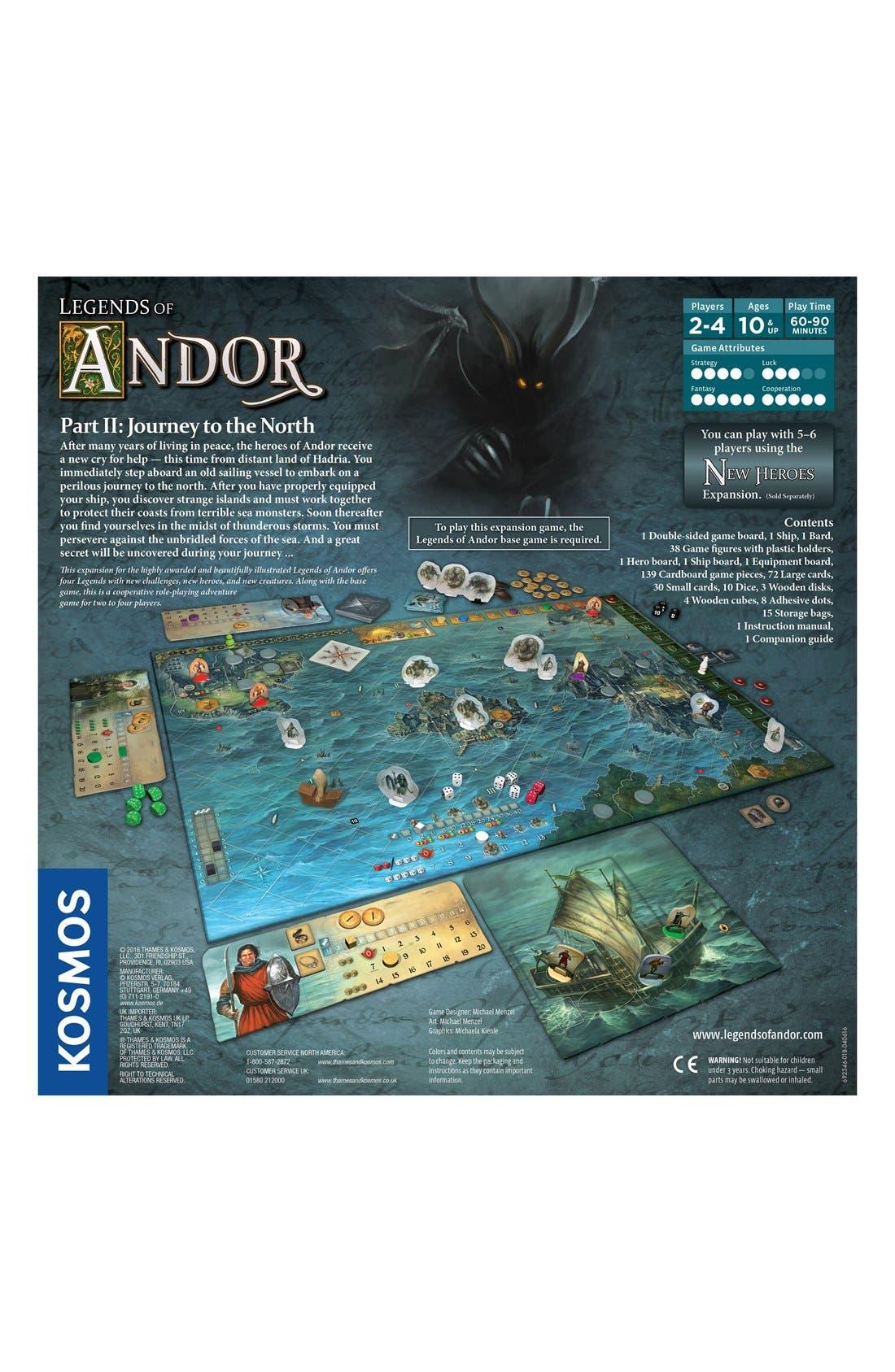 'Legends of Andor - Journey' Game Expansion Pack,                             Alternate thumbnail 3, color,                             Orange