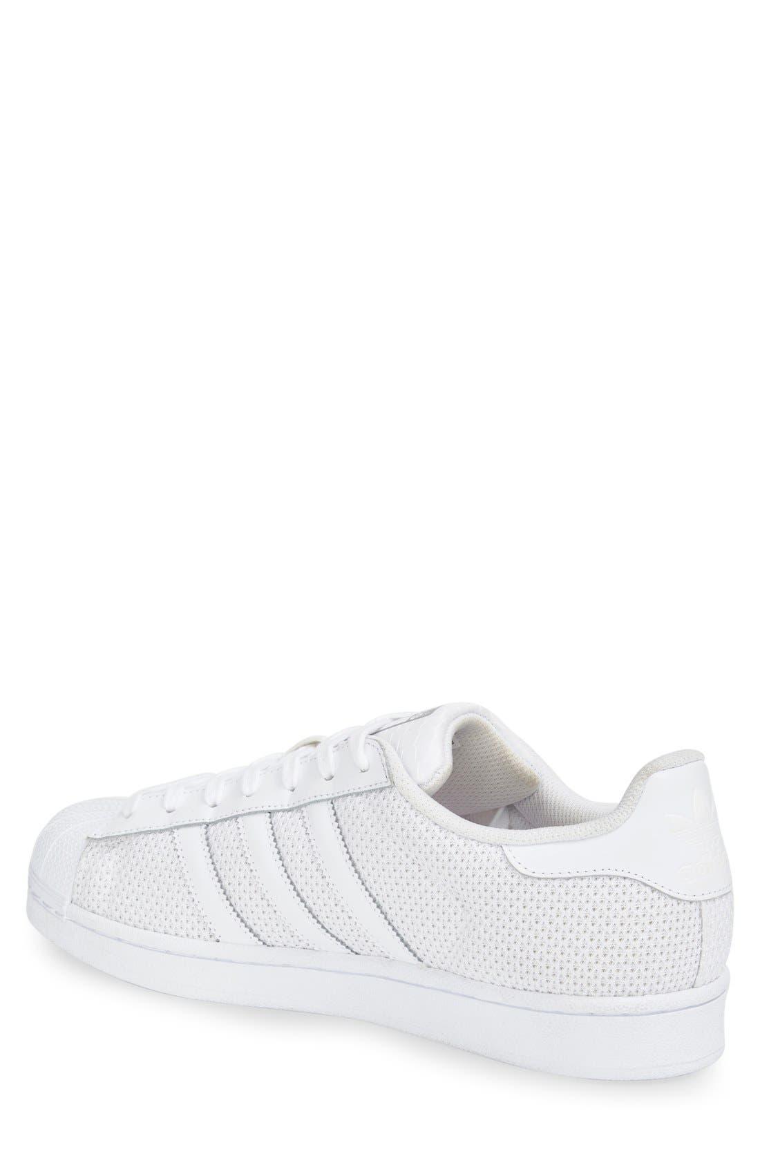 Alternate Image 2  - adidas 'Superstar' Mesh Sneaker (Women)