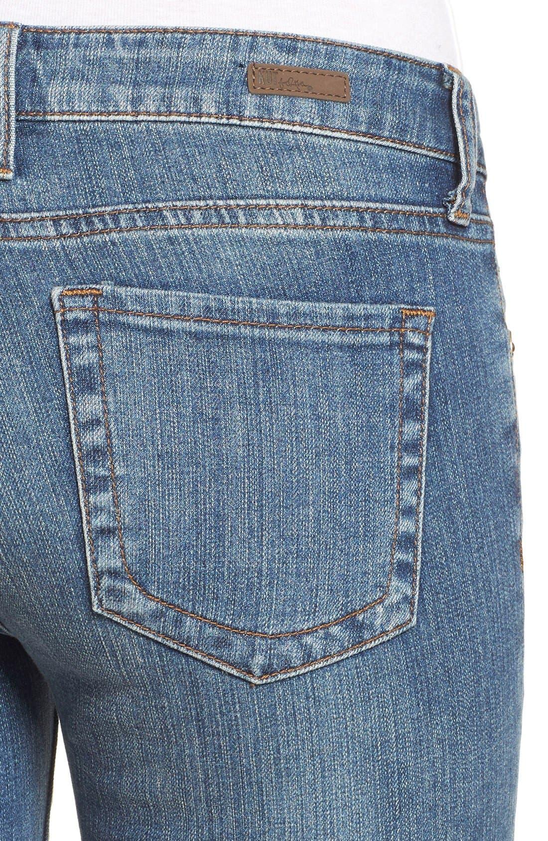 Alternate Image 5  - KUT from the Kloth 'Catherine' Slim Boyfriend Jeans (Fervent) (Regular & Petite)