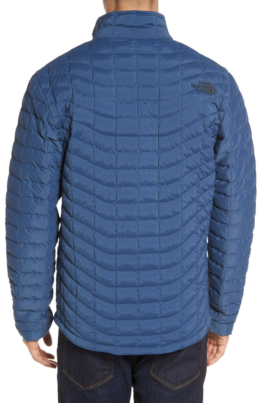 Packable Stretch ThermoBall<sup>™</sup> PrimaLoft<sup>®</sup> Jacket,                             Alternate thumbnail 2, color,                             Shady Blue