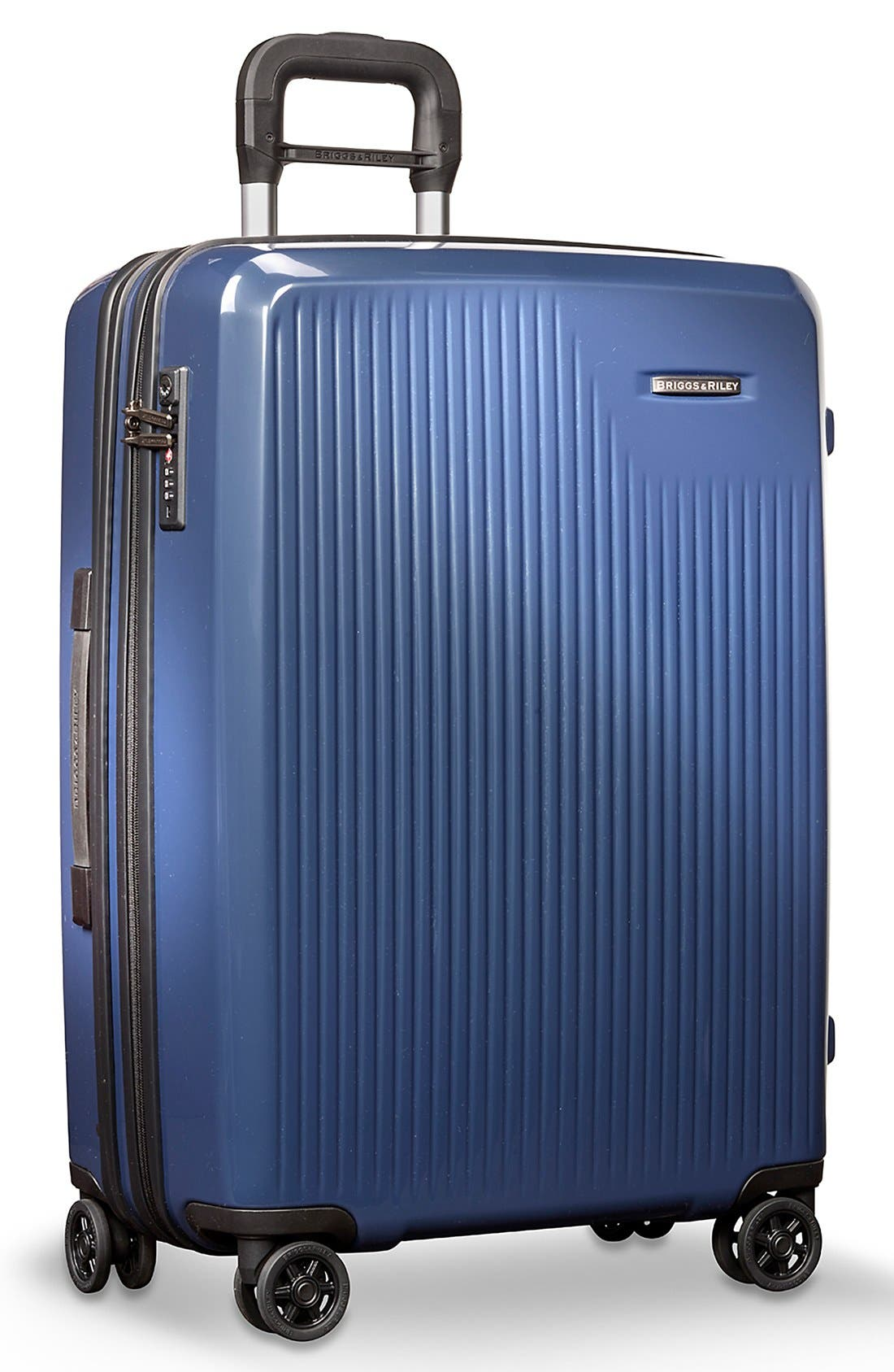 'Sympatico' Expandable Wheeled Packing Case,                             Alternate thumbnail 2, color,                             Marine Blue