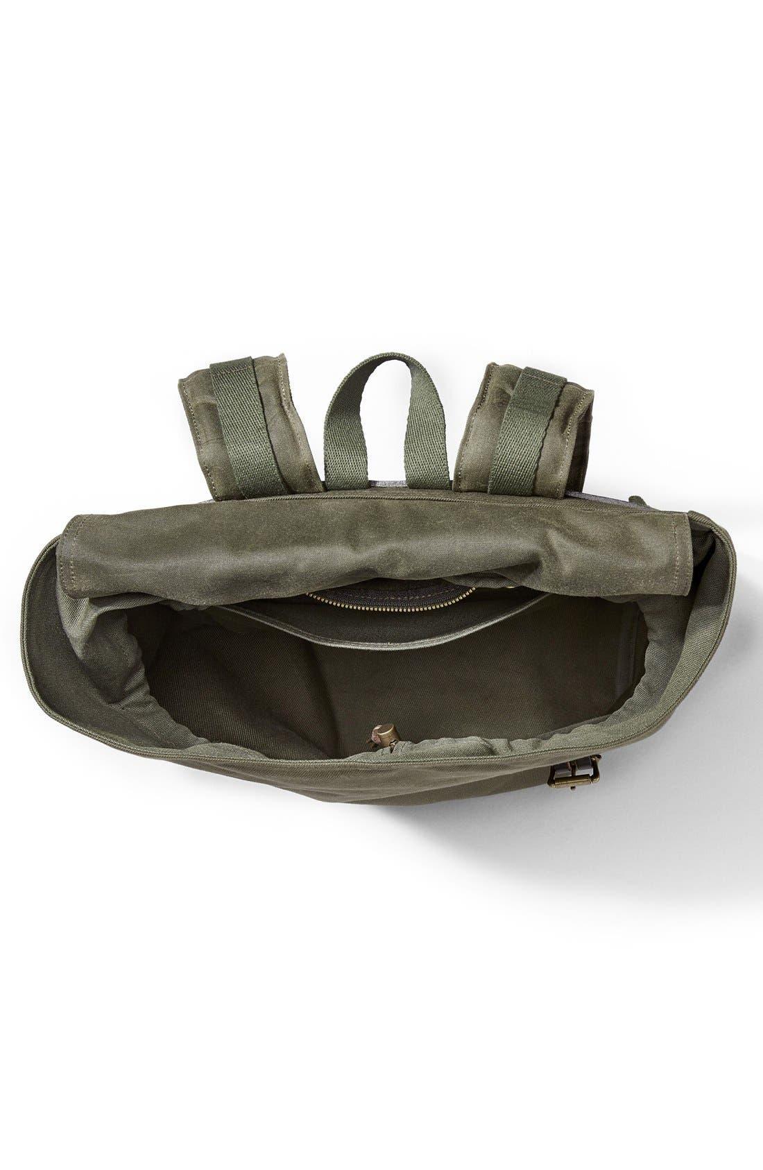 Alternate Image 3  - Filson 'Ranger' Canvas Backpack