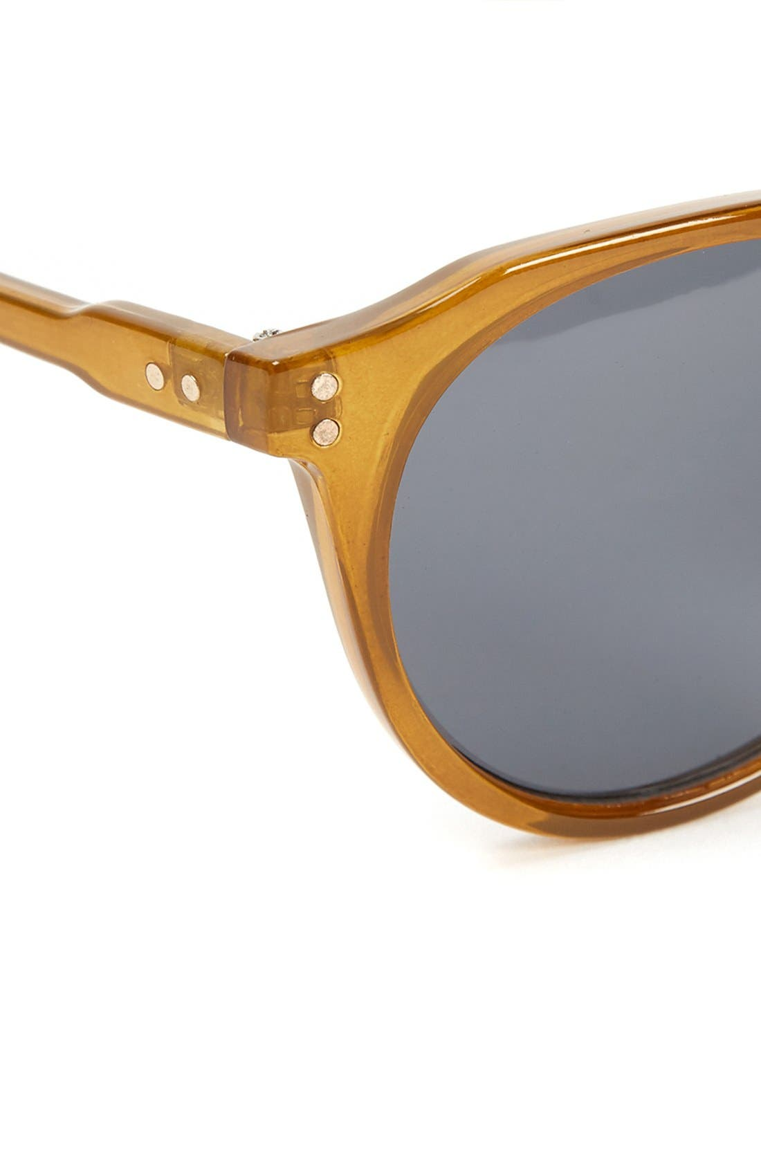 Alternate Image 2  - Topman 50mm Round Sunglasses