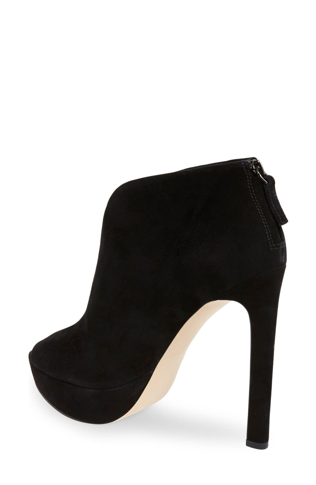Alternate Image 2  - Nine West 'Vain' Platform Bootie (Women)