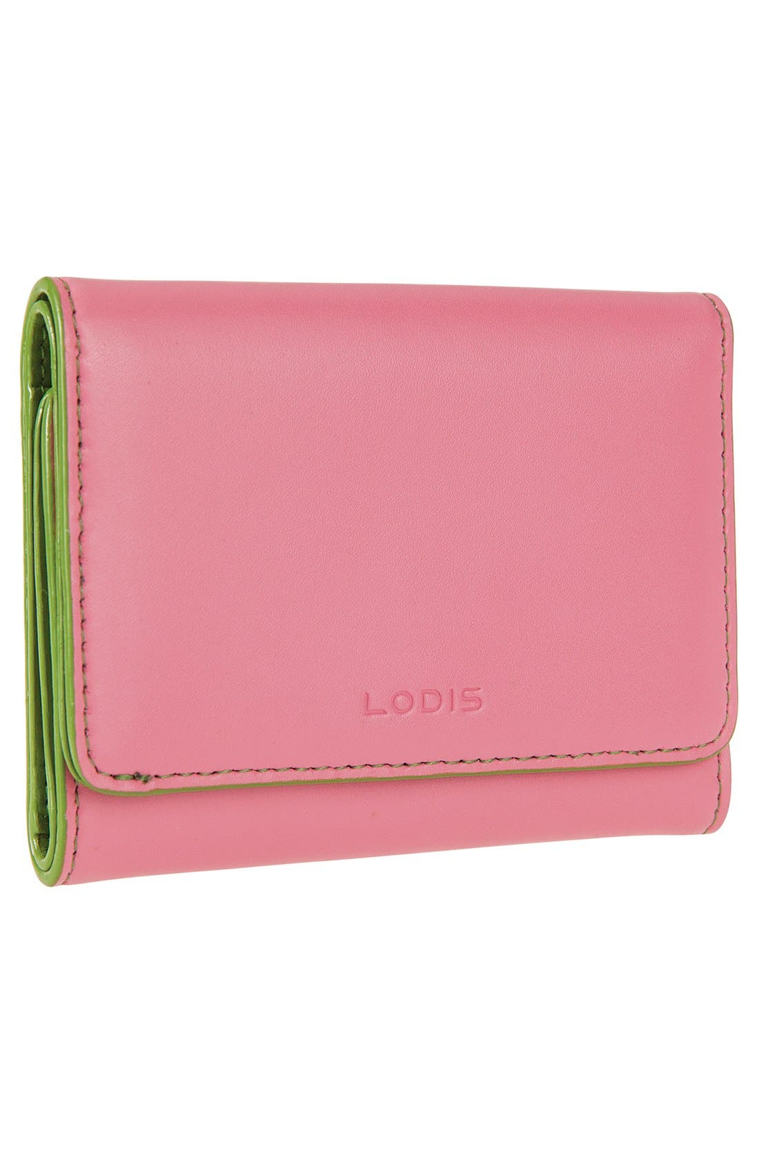 Alternate Image 2  - Lodis 'Audrey - Mallory' Leather French Wallet