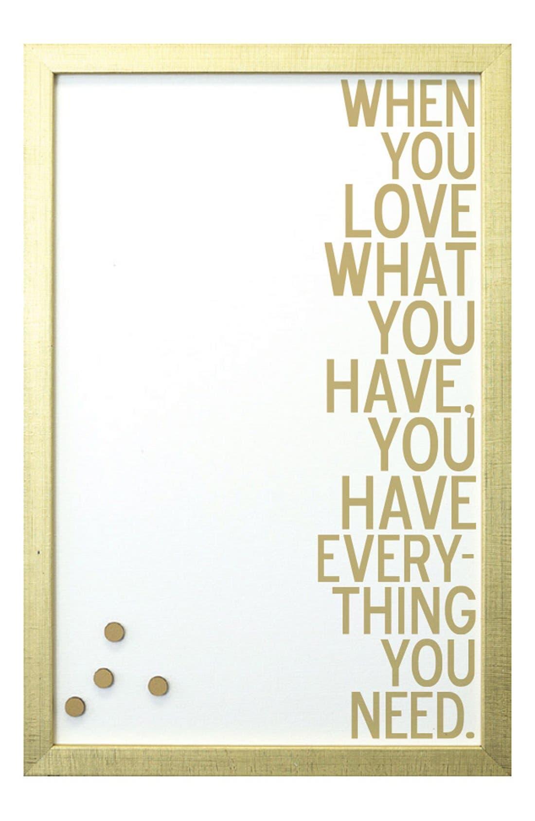 Main Image - Petal Lane 'When You Love' Magnet Board