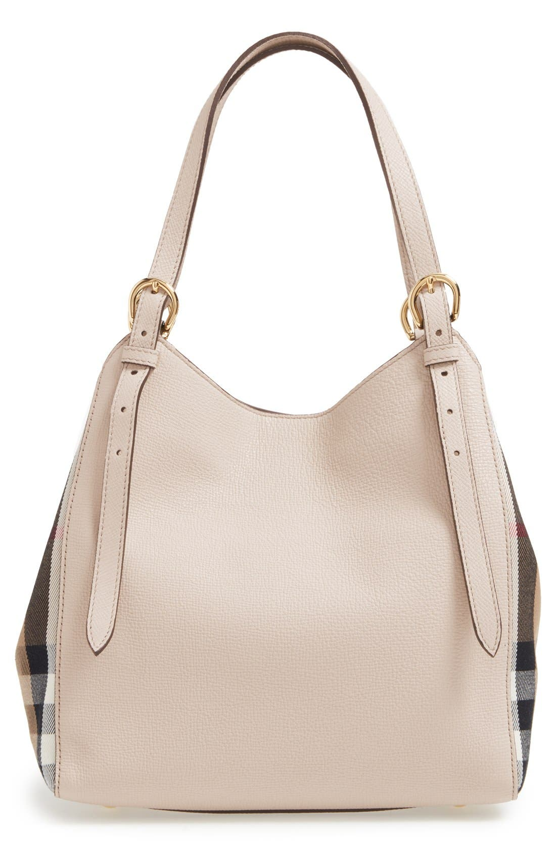 Alternate Image 3  - Burberry 'Derby Canterbury' House Check Shoulder Tote