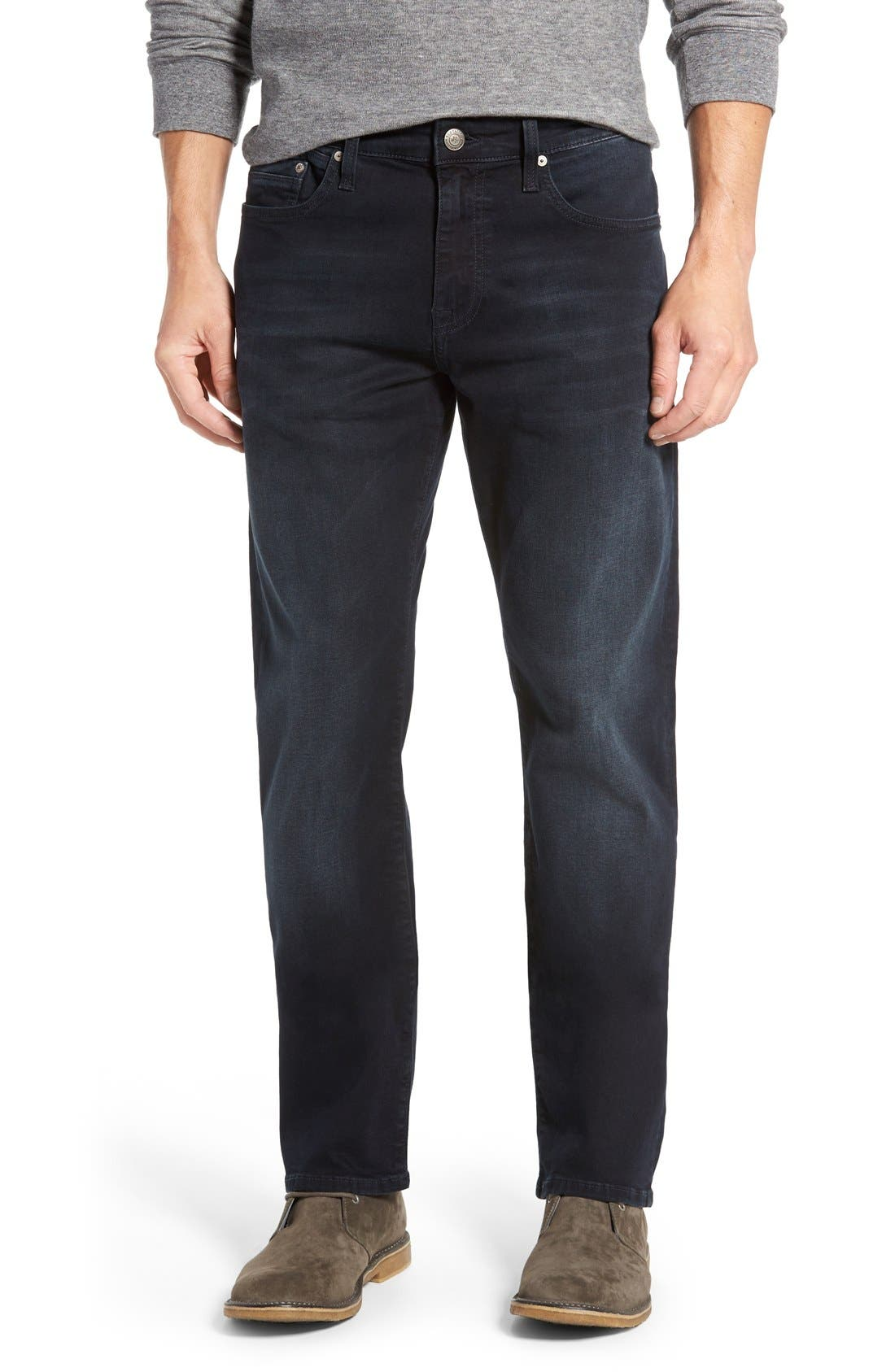'Myles' Straight Leg Jeans,                         Main,                         color, Ink Brushed Williamsburg