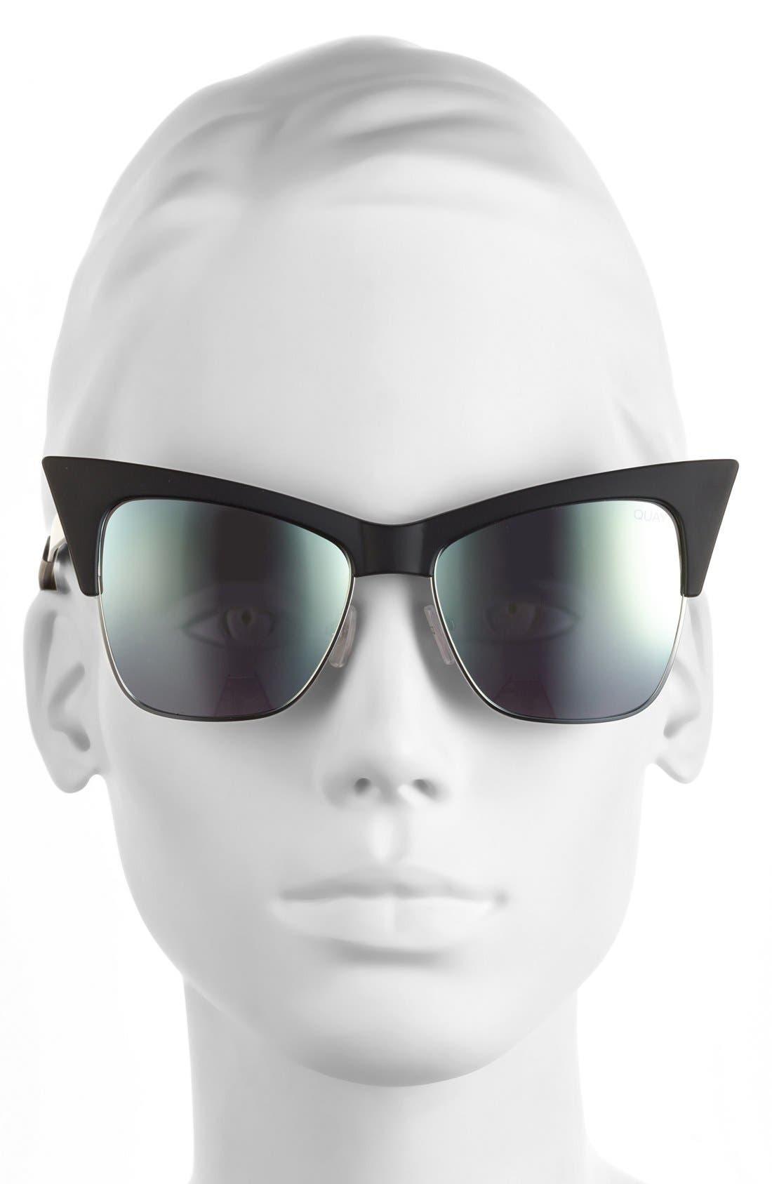 Alternate Image 3  - Quay Australia x Desi Perkins 'TYSM' 55mm Cat Eye Sunglasses