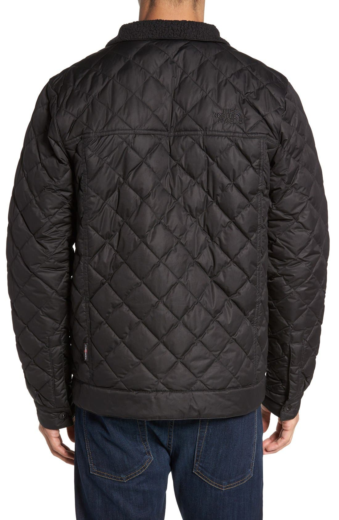 Alternate Image 2  - The North Face Sherpa Fleece Lined Quilted Jacket