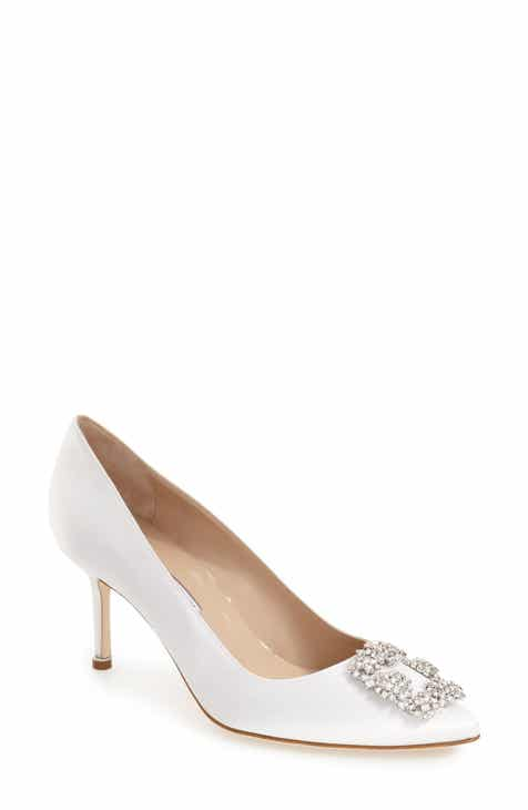 4337d0ecb24 Manolo Blahnik  Hangisi  Pointy Toe Pump (Women)