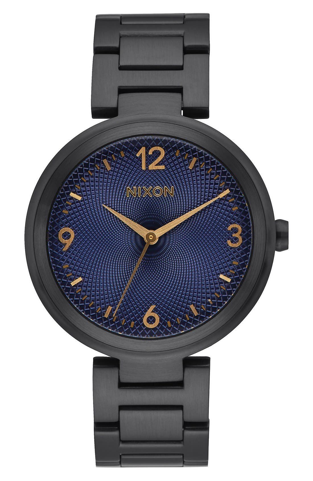 'Chameleon' Bracelet Watch, 39mm,                             Main thumbnail 1, color,                             Black/ Blue