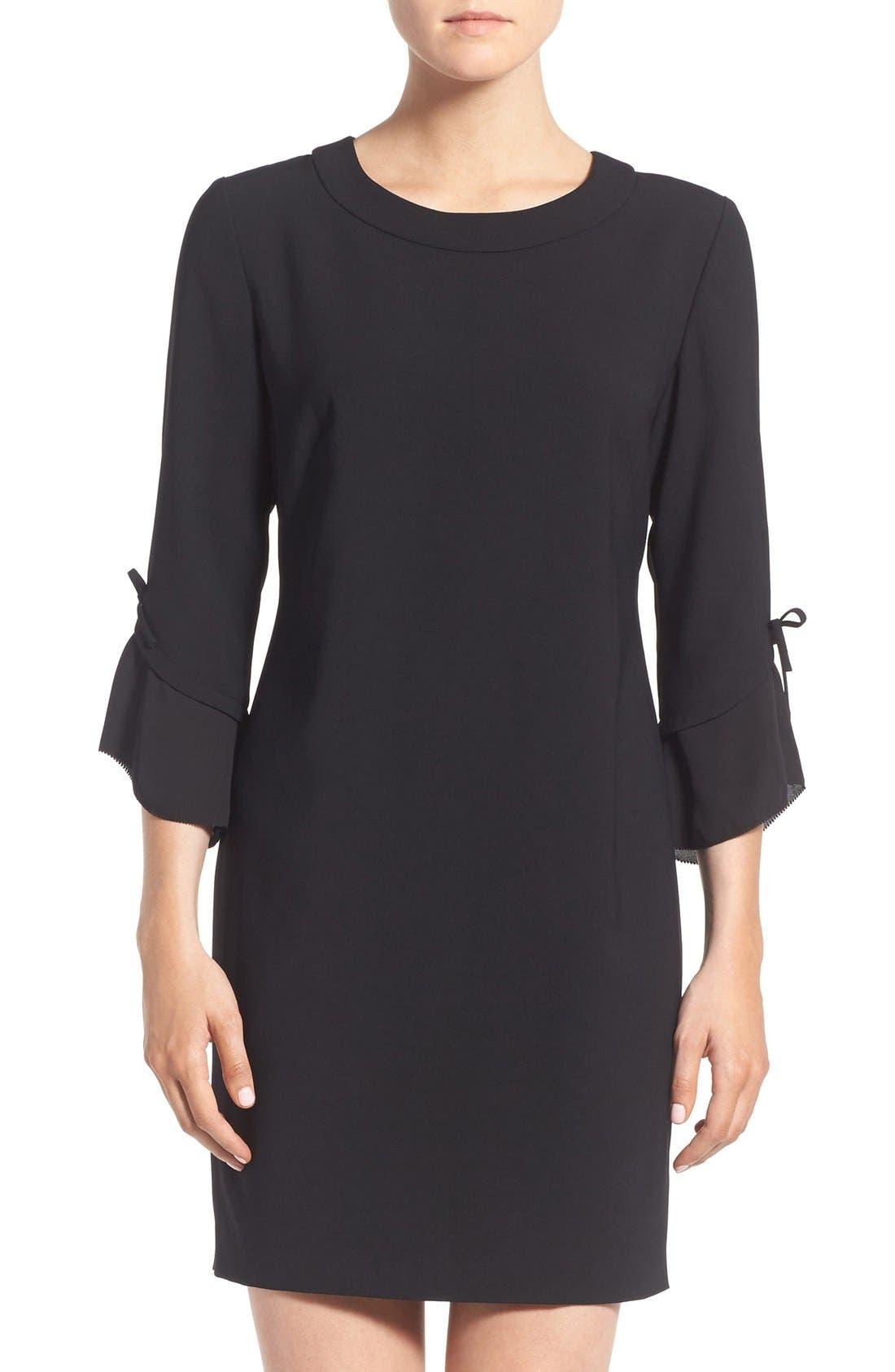 Alternate Image 1 Selected - Chelsea28 Ruffle Sleeve Sheath Dress