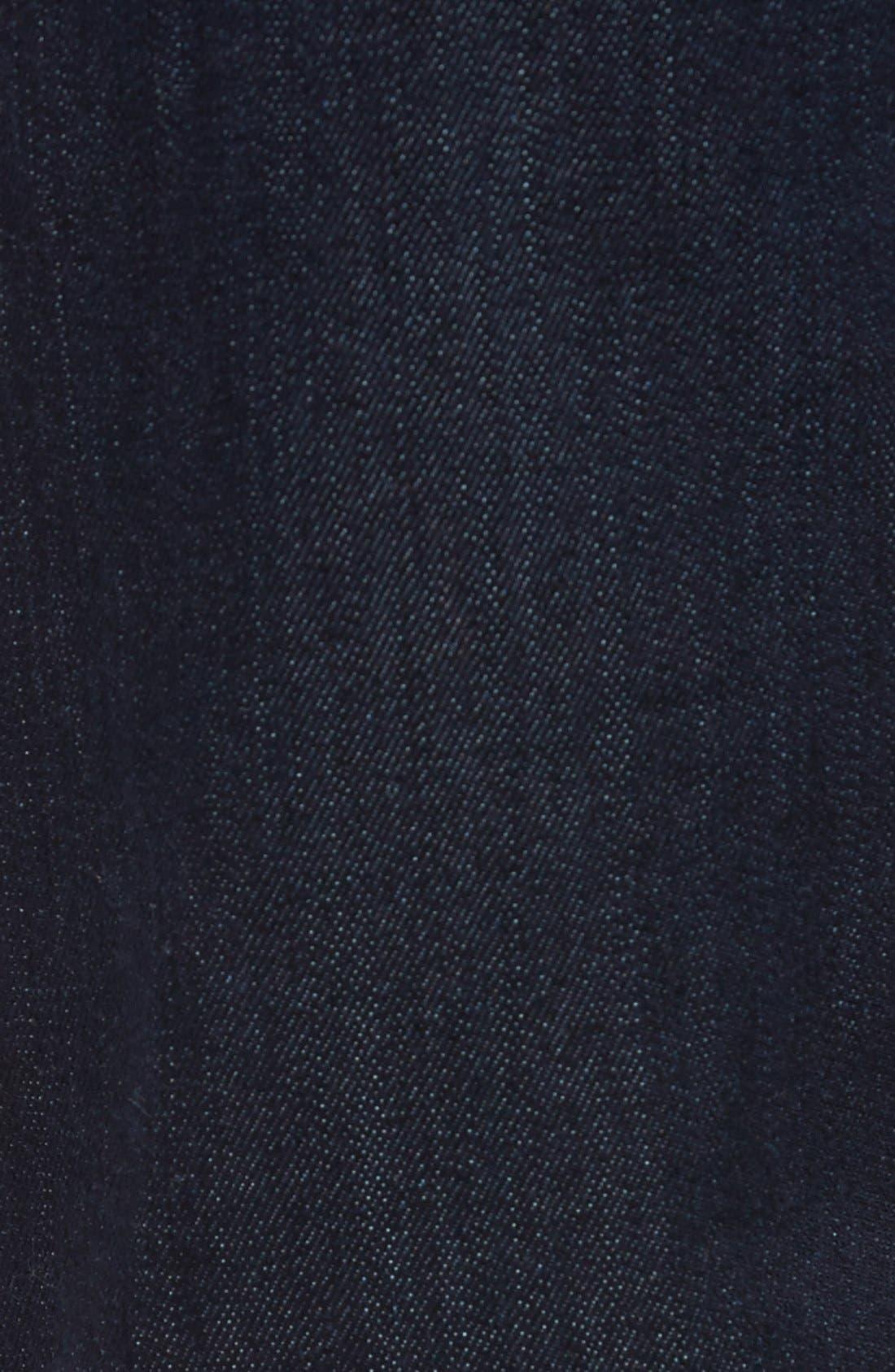 Alternate Image 5  - Mavi Jeans 'Zach' Straight Leg Jeans (Dark Blue)