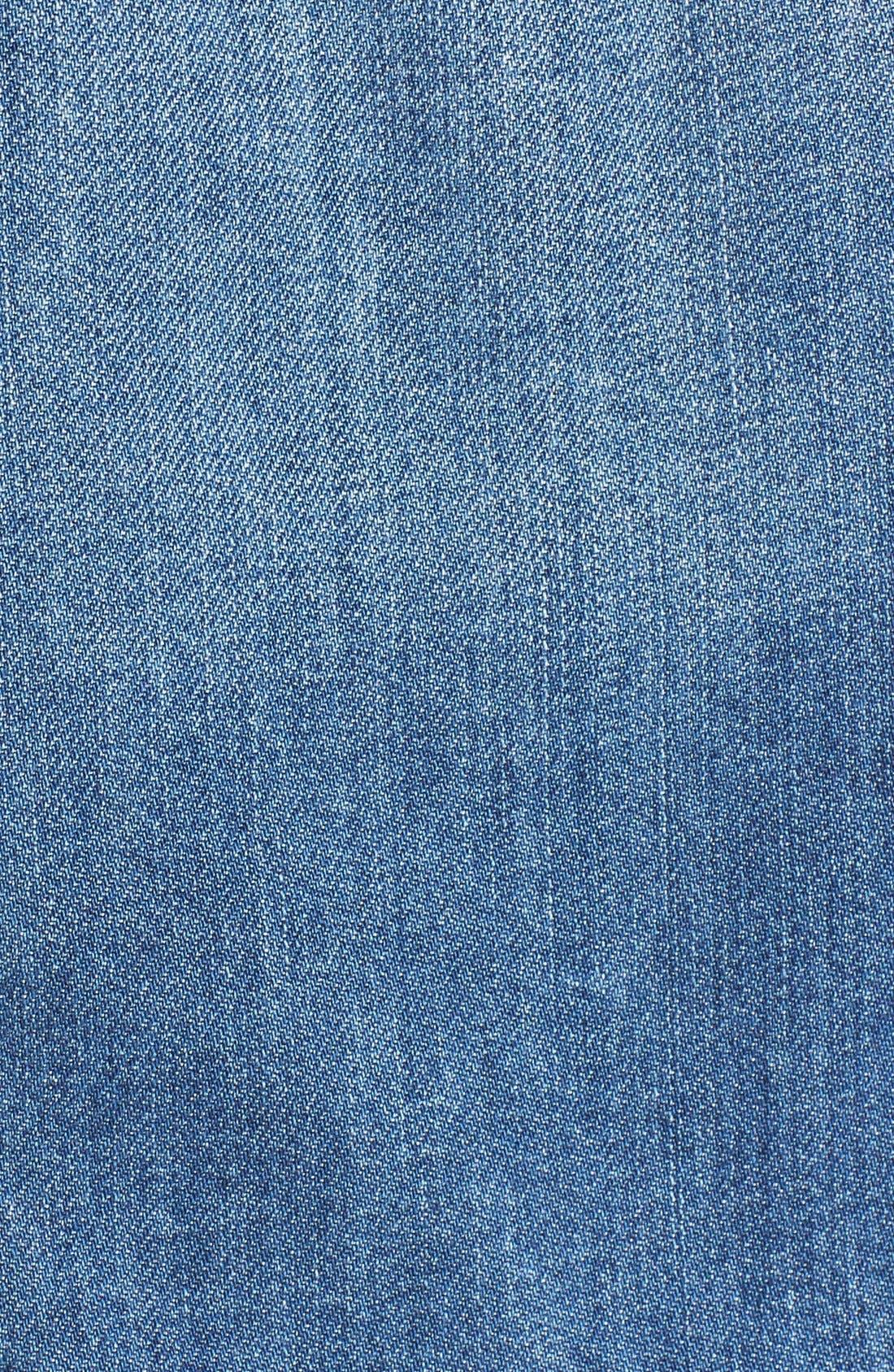 'Rowan' Denim Jacket,                             Alternate thumbnail 5, color,                             Burton