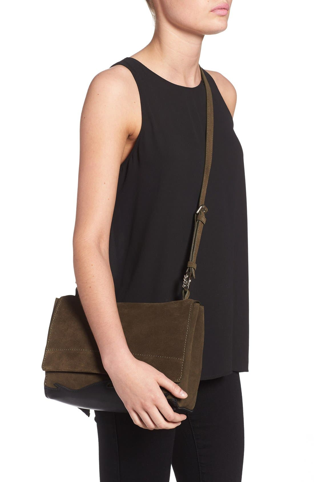 Alternate Image 2  - 3.1 Phillip Lim 'Ames - Patchwork' Leather Crossbody Bag