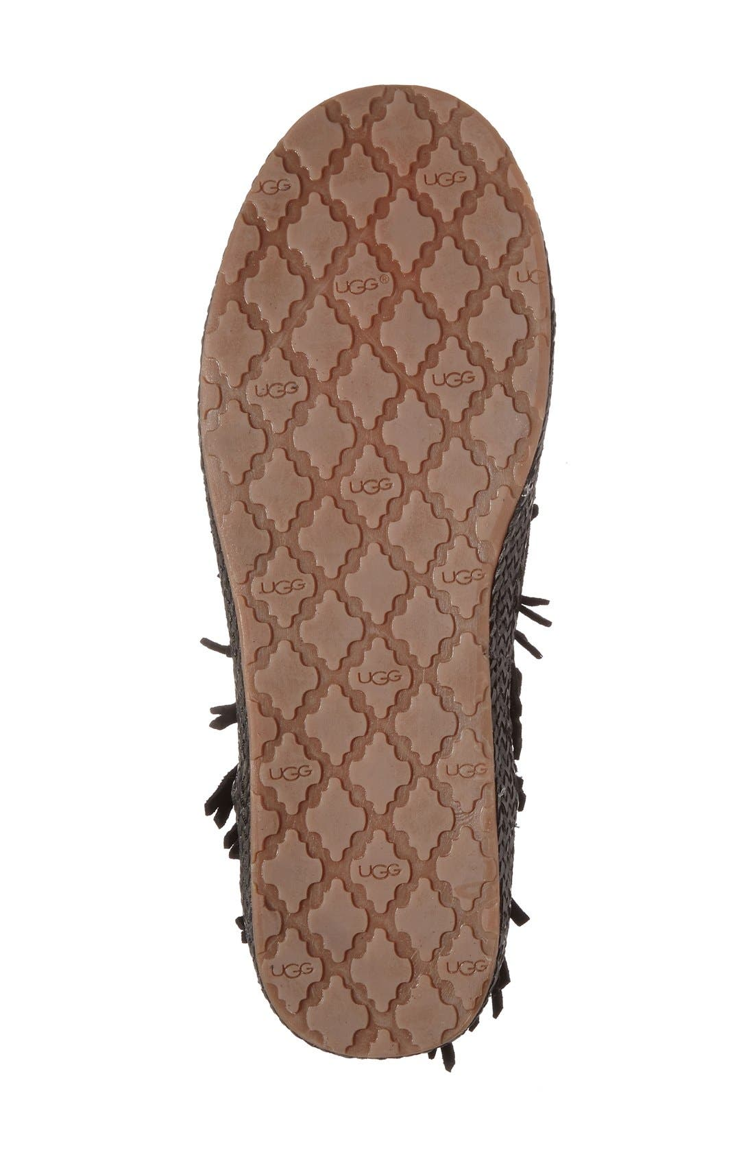 Alternate Image 4  - UGG® 'Shenendoah' Fringe Ankle Boot (Women)
