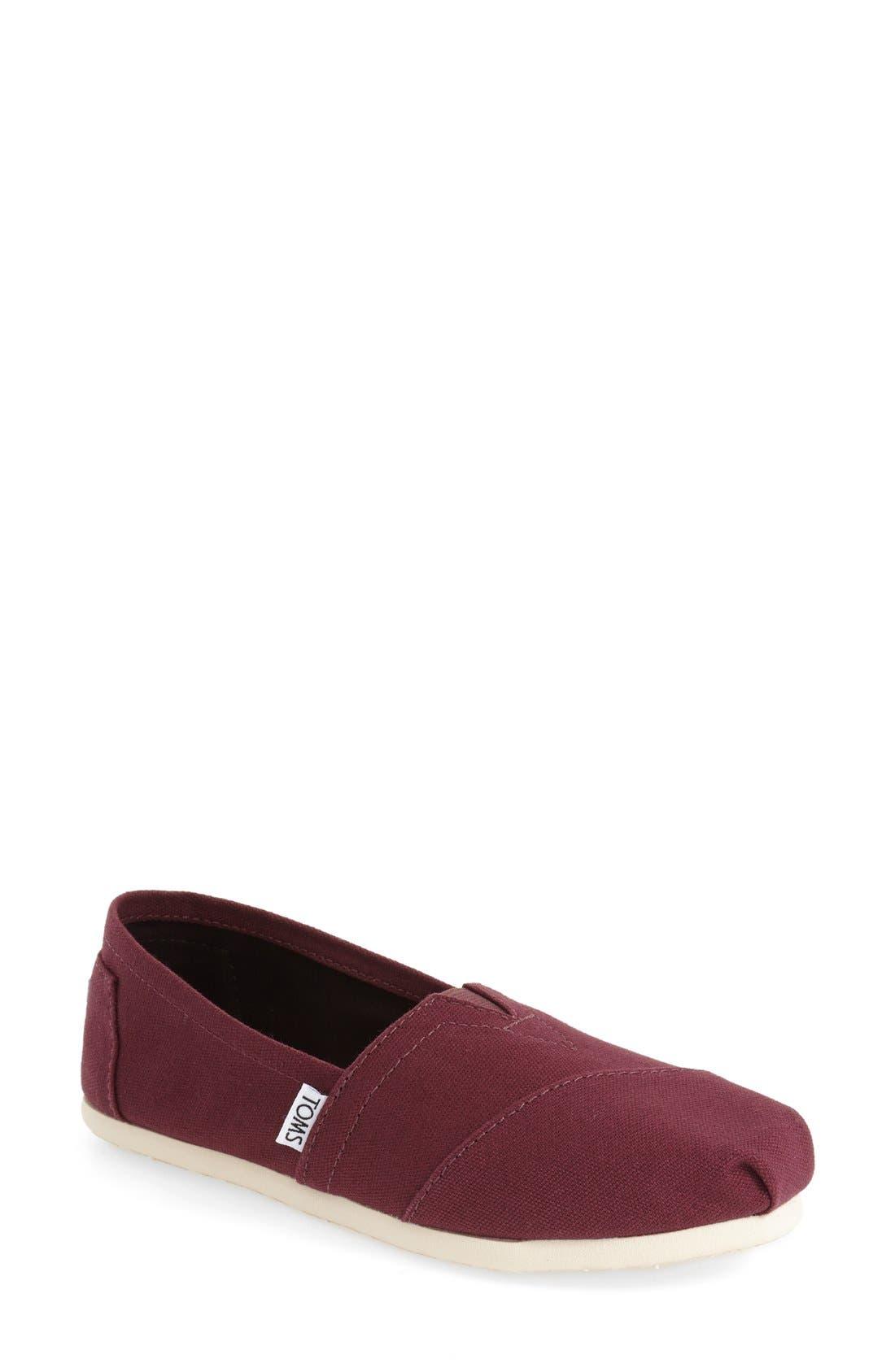 Classic Slip-On,                         Main,                         color, Red Mahogany