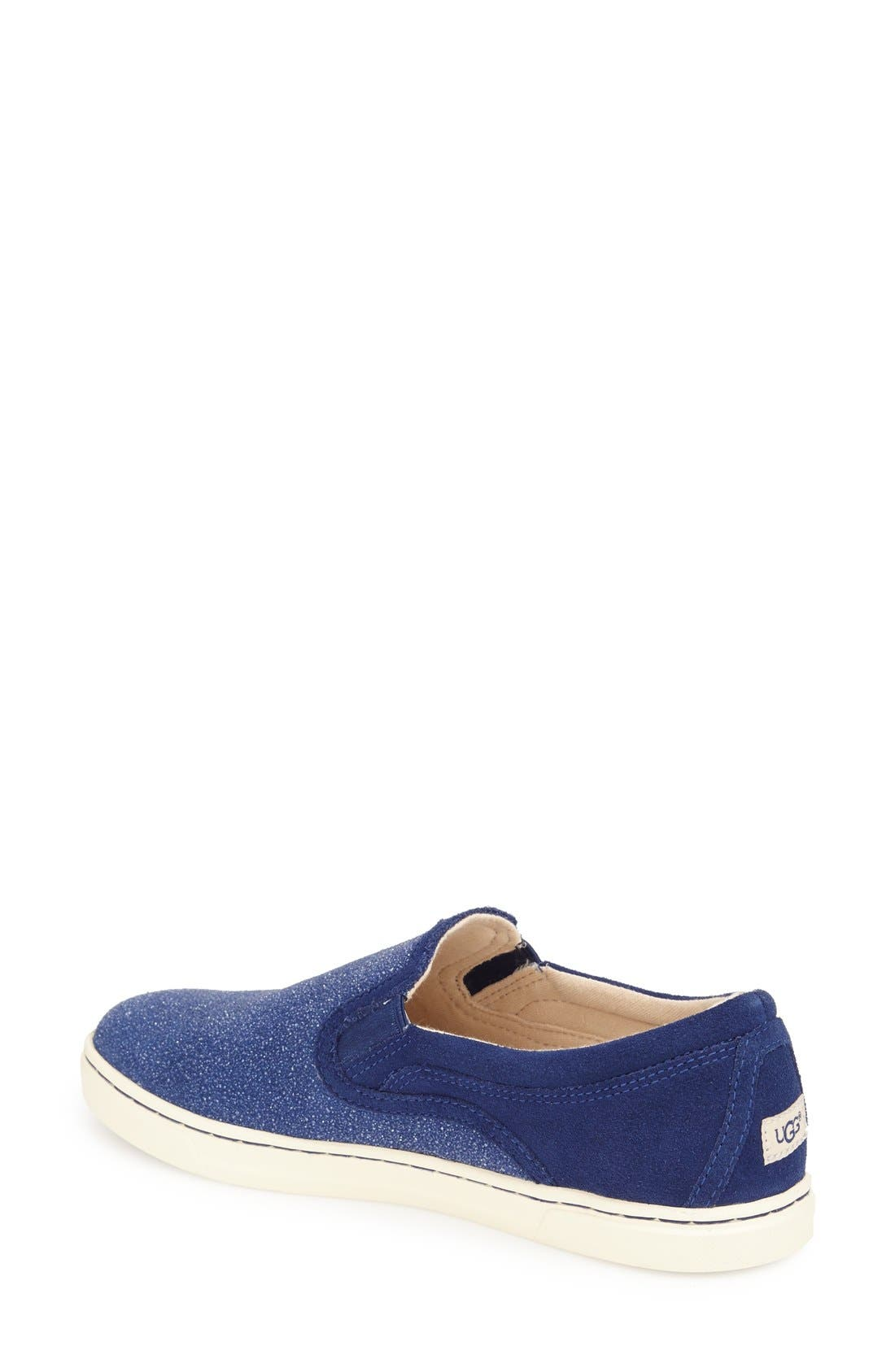 Fierce Slip-On Sneaker,                             Alternate thumbnail 2, color,                             Night Sky Fabric