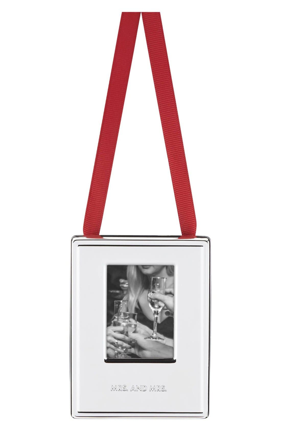 Main Image - kate spade new york 'darling point' frame ornament