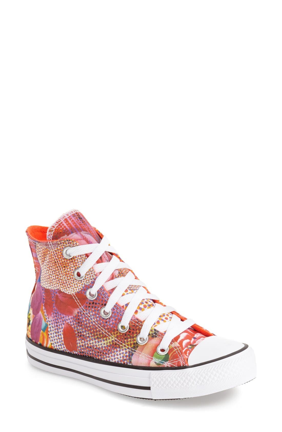 Main Image - Converse Chuck Taylor® All Star® 'Digital Floral' High Top (Women)