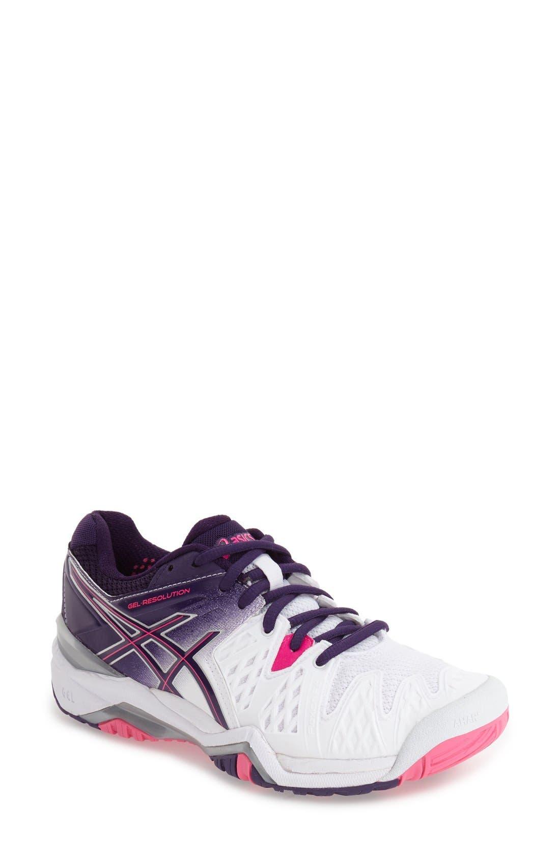 Alternate Image 1 Selected - ASICS® 'GEL-Resolution 5' Tennis Shoe (Women)