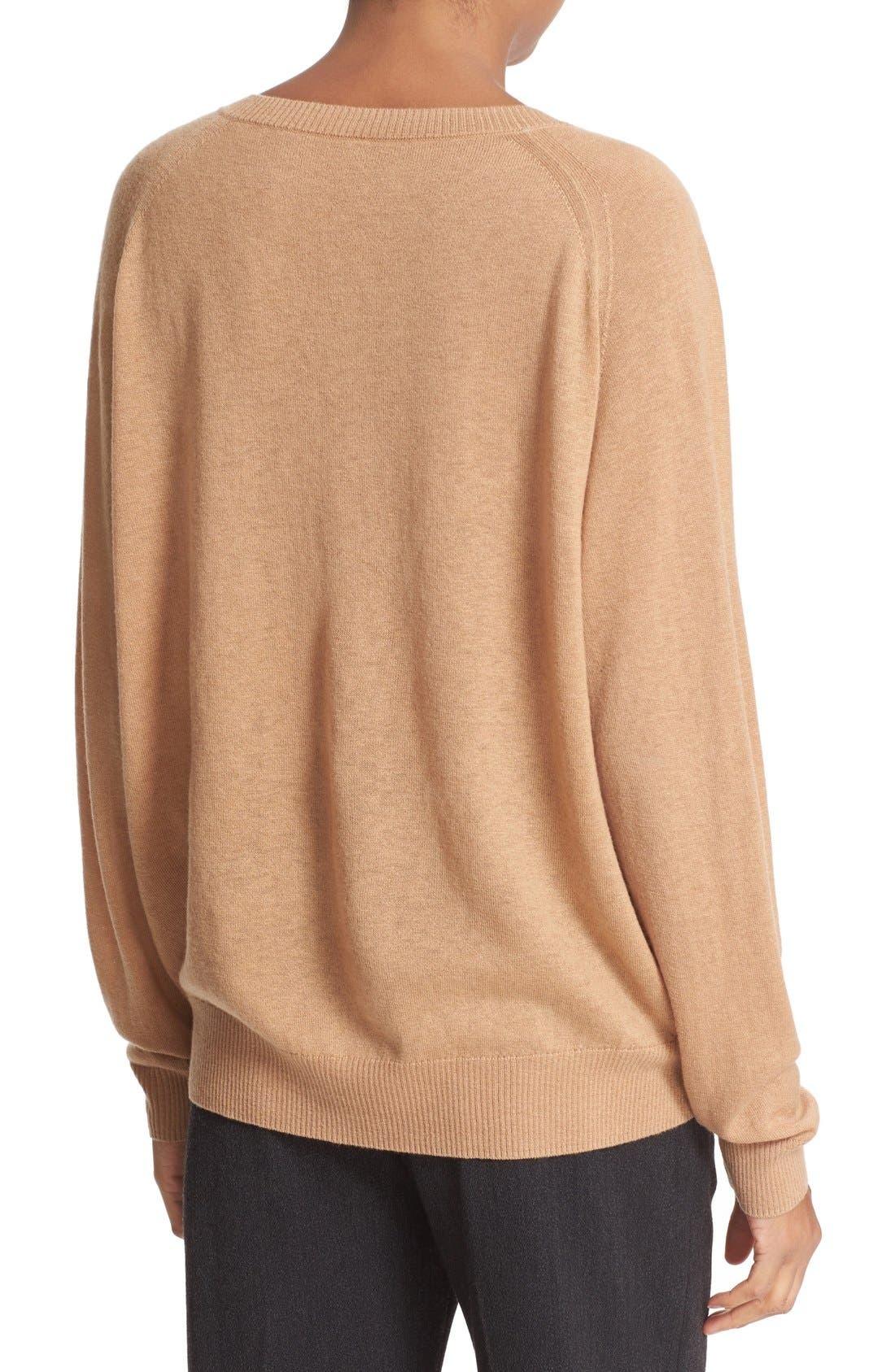 Alternate Image 2  - Vince Relaxed Cashmere V-Neck Sweater