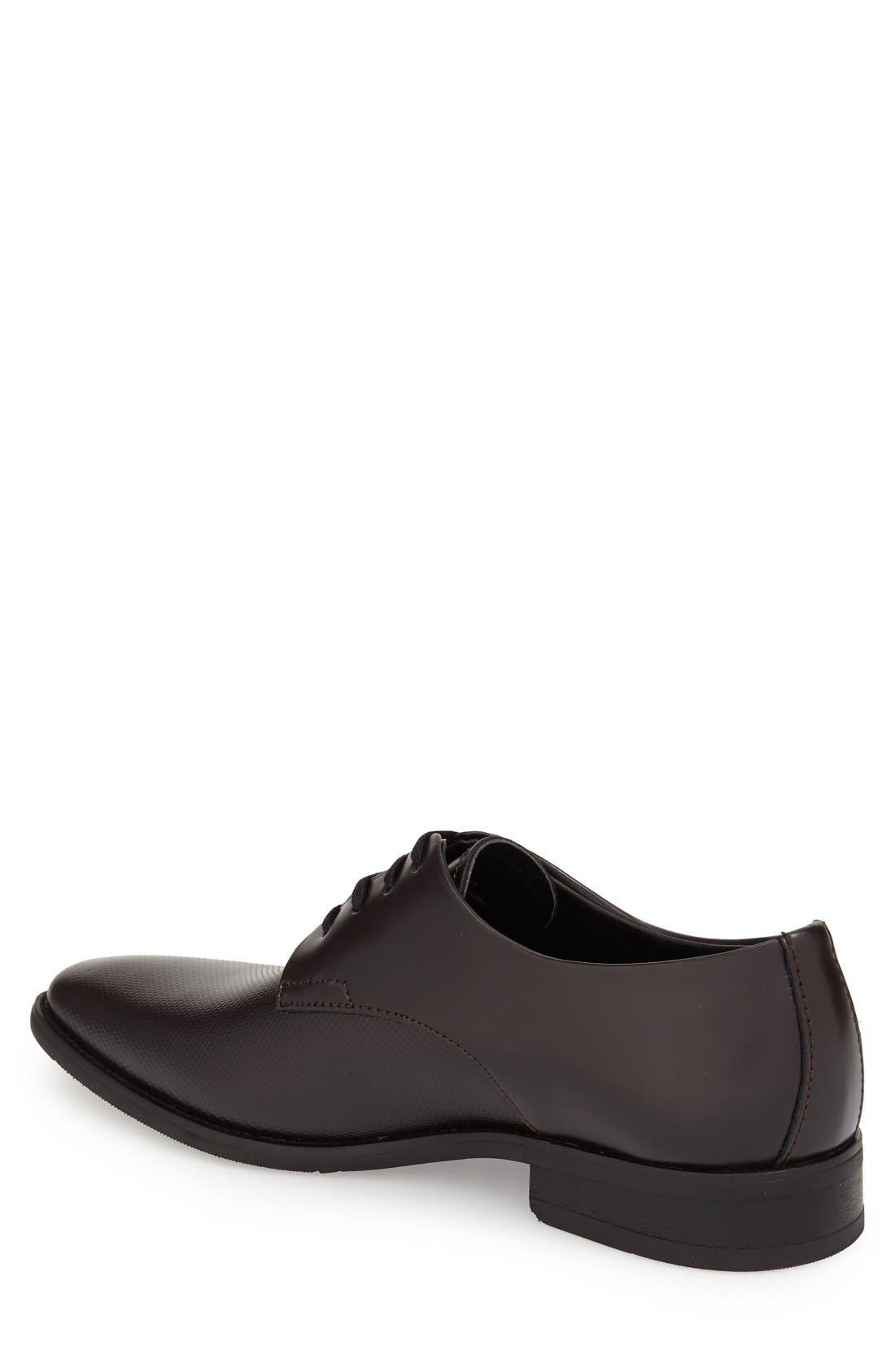 Alternate Image 2  - Calvin Klein 'Ramses' Plain Toe Derby (Men)
