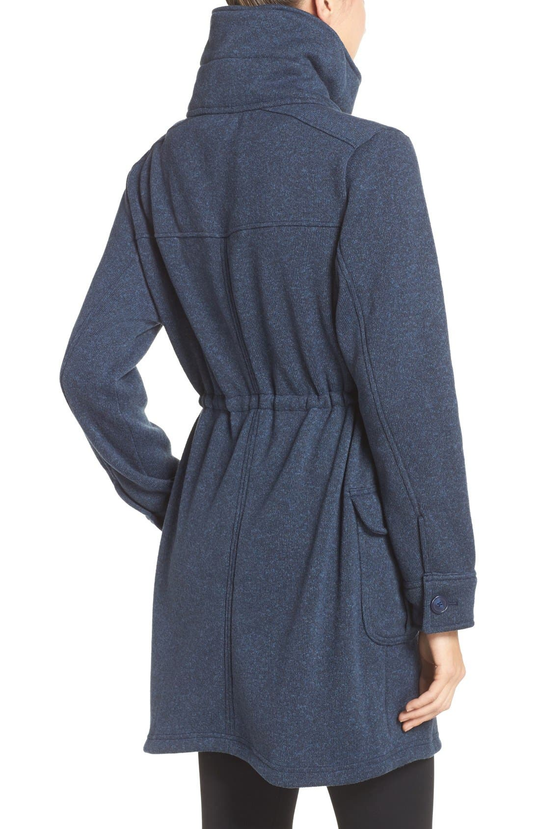 'Better Sweater<sup>®</sup>' Fleece Coat,                             Alternate thumbnail 2, color,                             Classic Navy