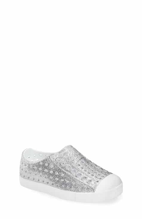 e8b3cc32667e4 Native Shoes Jefferson Bling Glitter Slip-On Vegan Sneaker (Baby