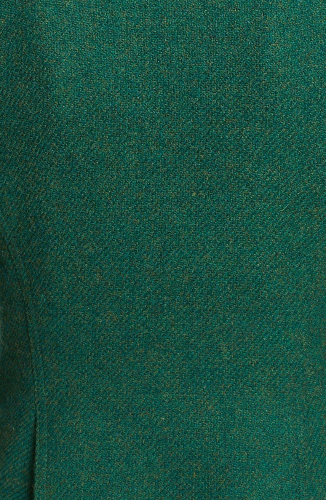 Alternate Image 5  - Smythe 'Duchess' Suede Trim Wool Blend Blazer