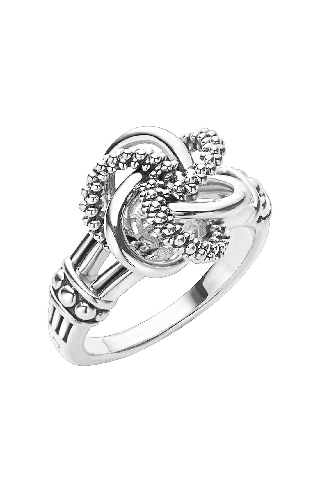 LAGOS Love Knot Ring