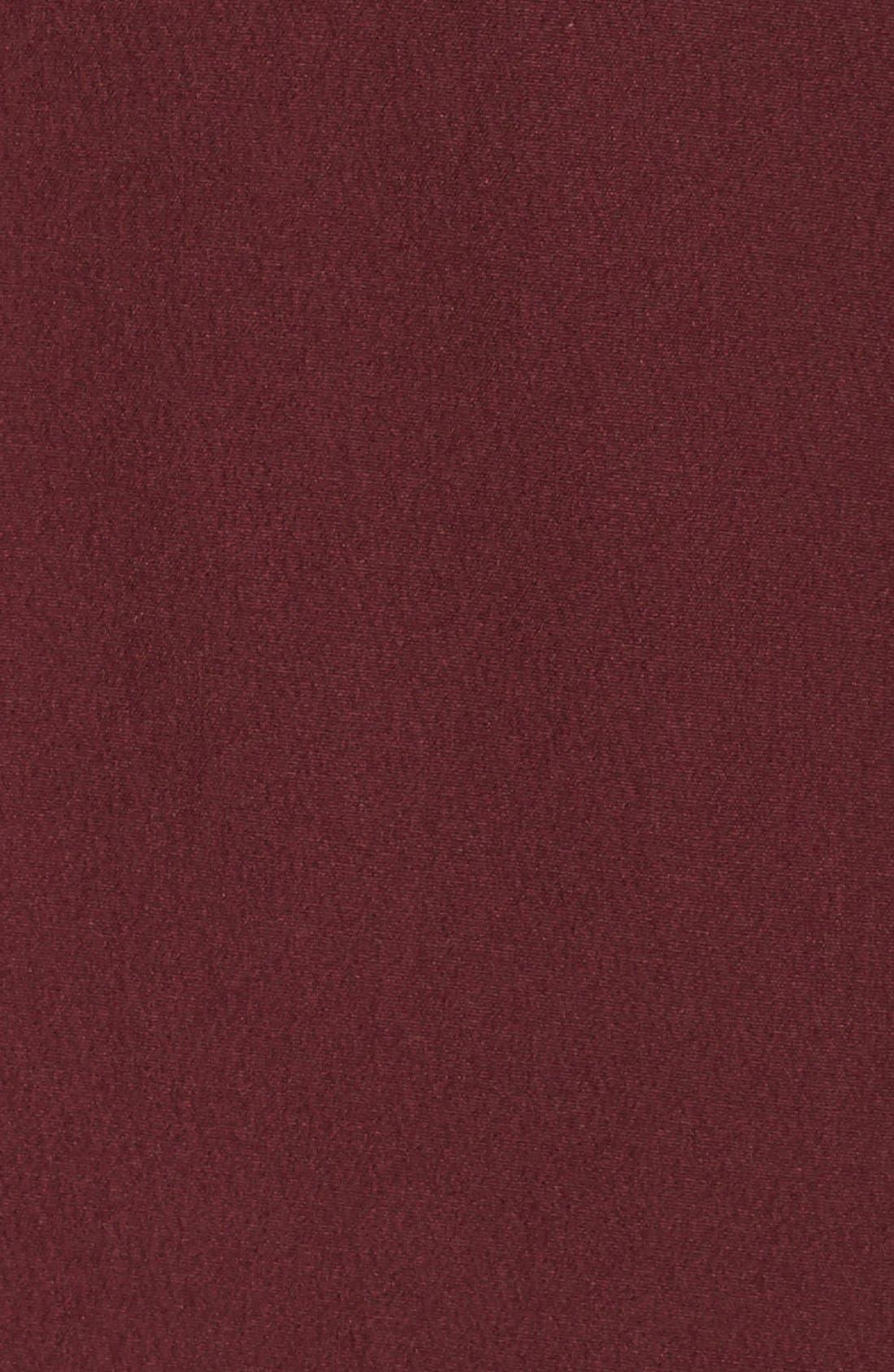 'Shelbe Raschel' Softshell Jacket,                             Alternate thumbnail 6, color,                             Deep Garnet Red