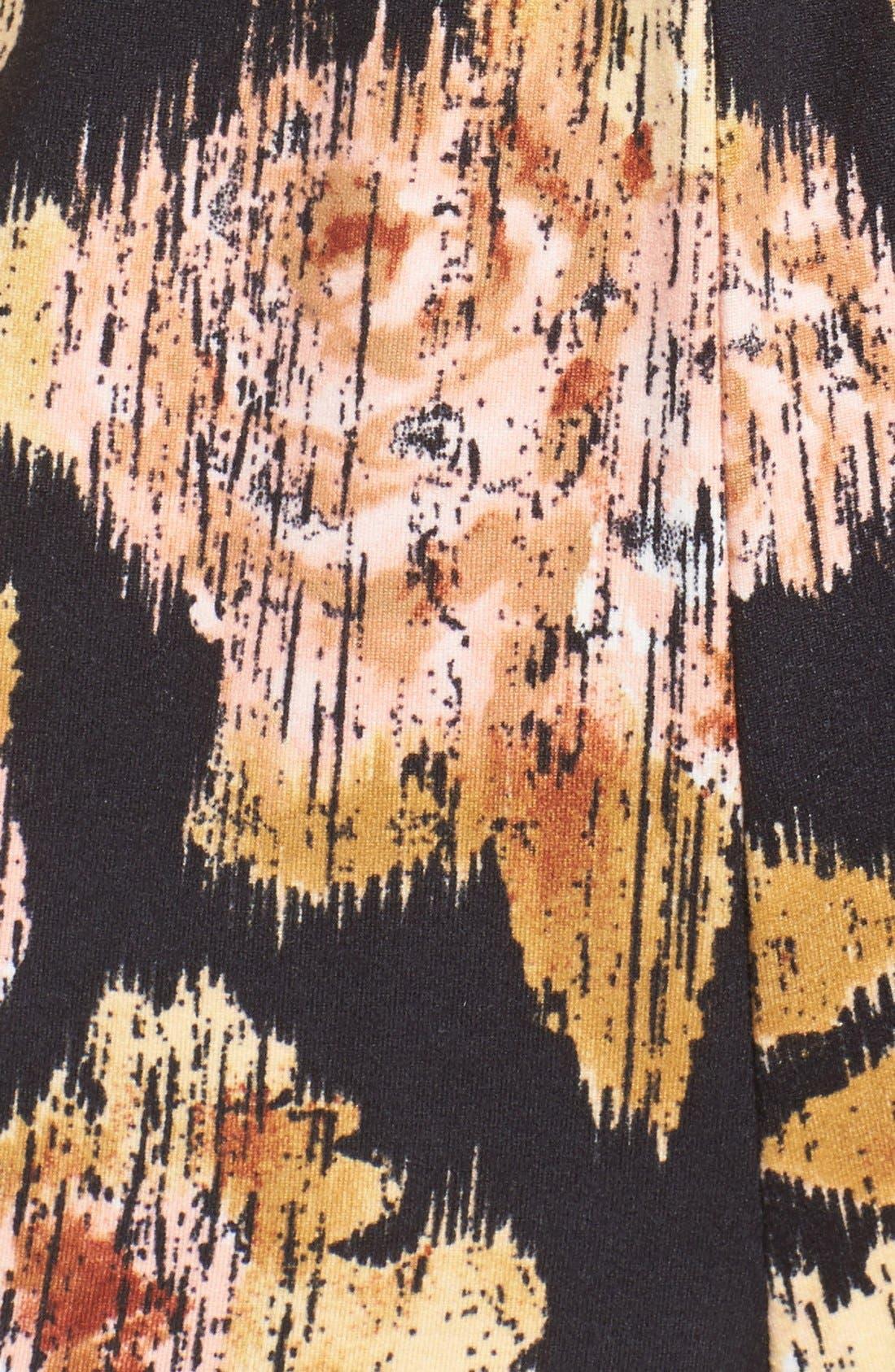 Alternate Image 5  - Mimi Chica Print Surplice Romper