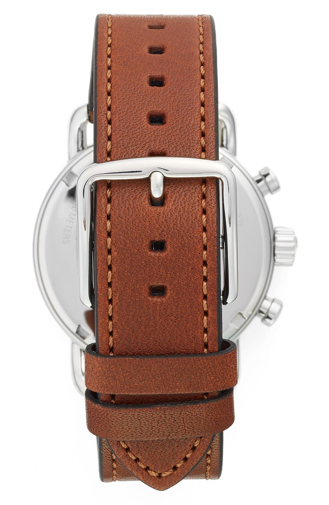 Alternate Image 2  - COACH 'Delancey' Chronograph Leather Strap Watch, 42mm