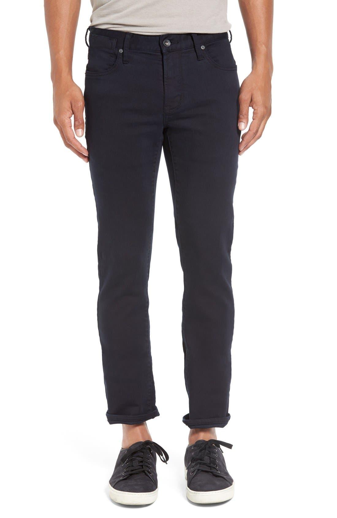 'Bowery' Slim Fit Pants,                             Main thumbnail 1, color,                             Eclipse