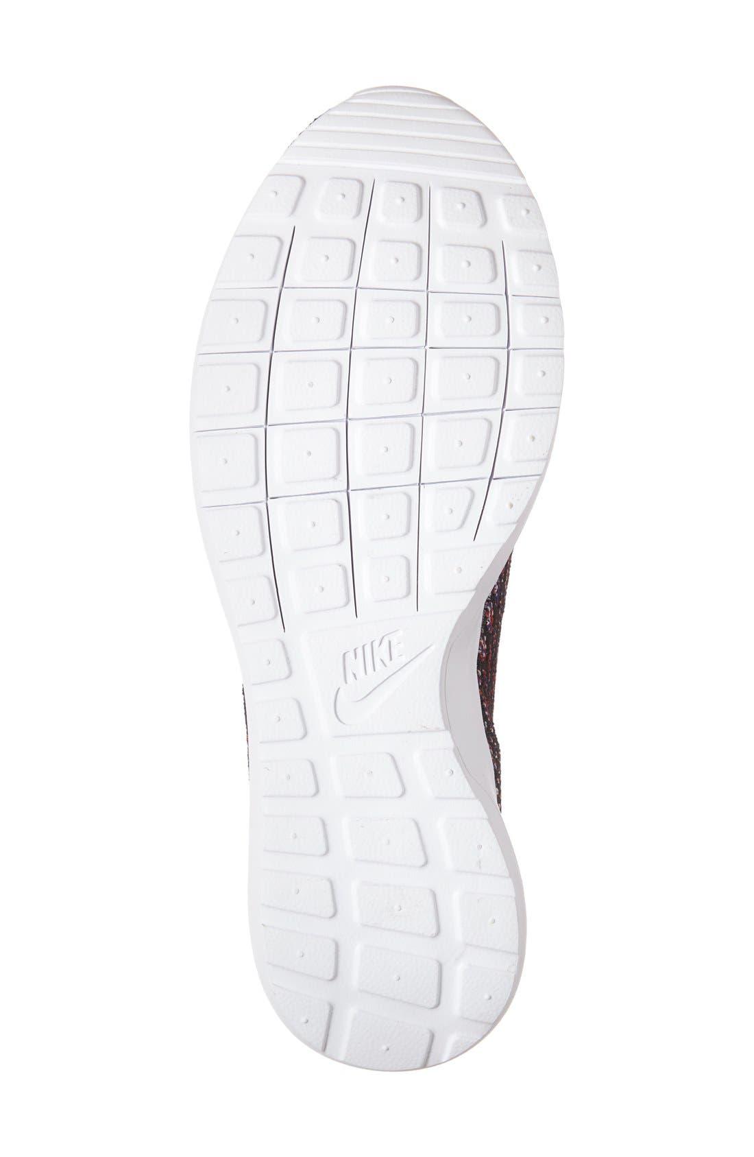 Alternate Image 4  - Nike Flyknit 'Roshe Run' Sneaker (Men)