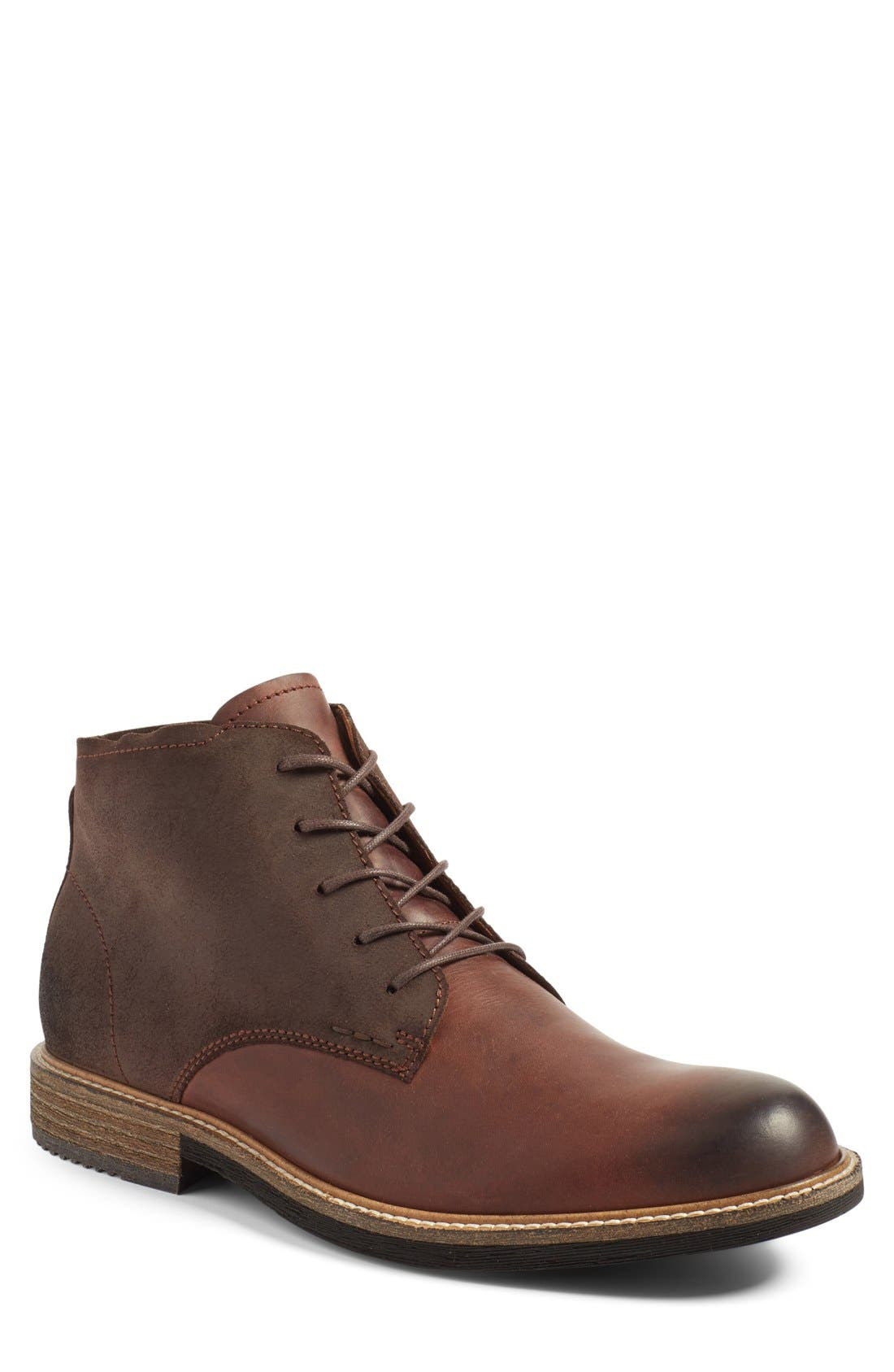 ECCO 'Kenton' Plain Toe Boot (Men)