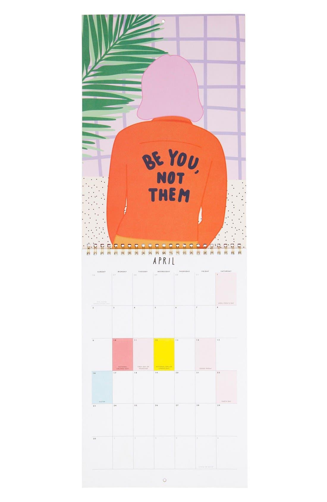 Alternate Image 3  - ban.do 'Best Year Ever' 2017 Wall Calendar