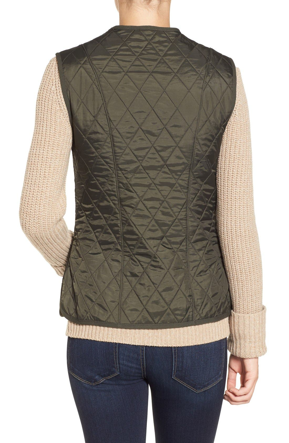 Alternate Image 2  - Barbour 'Betty' Fleece Lined Quilted Liner