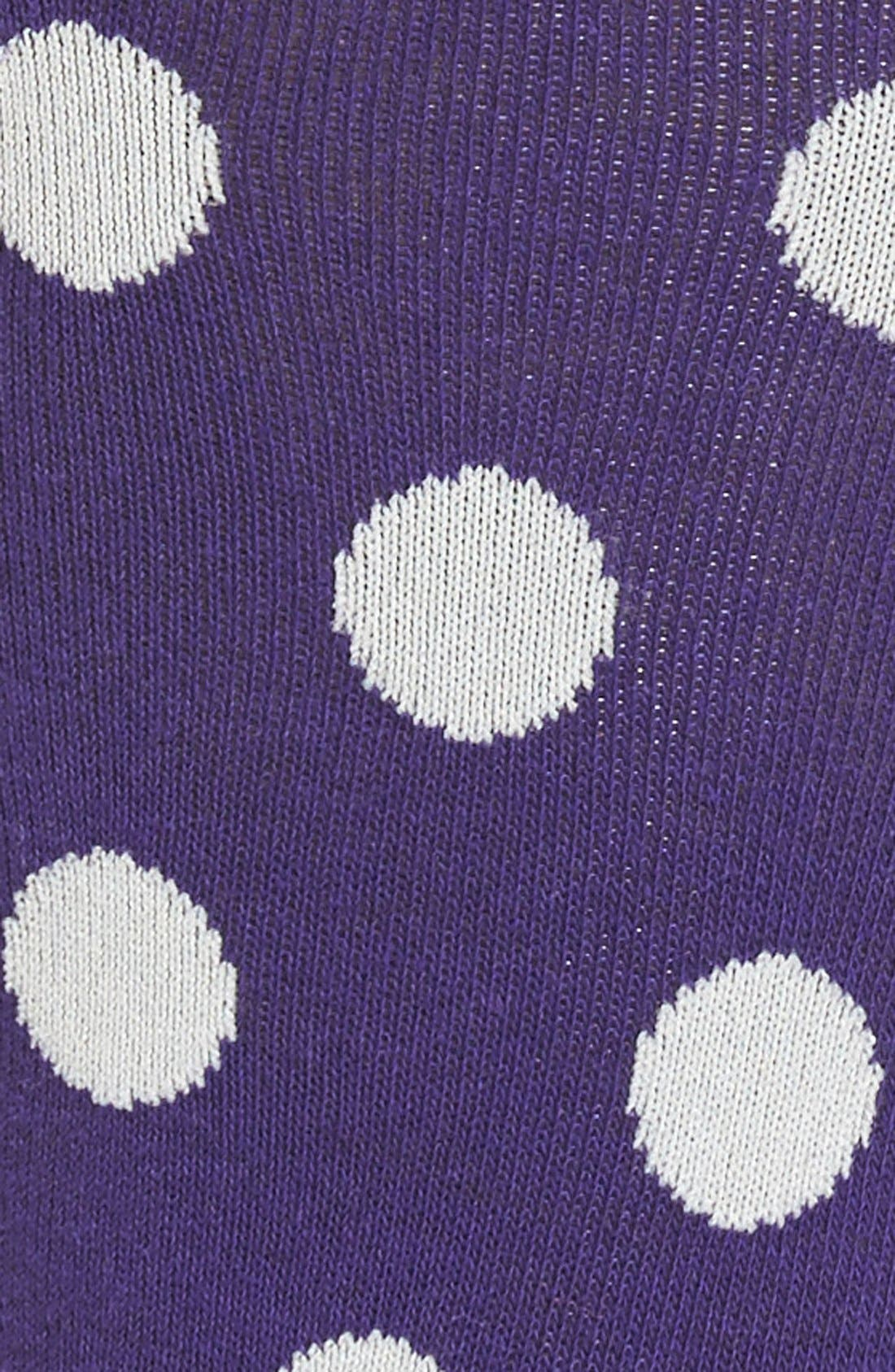 Alternate Image 2  - kate spade new yoke polka dot knee high socks
