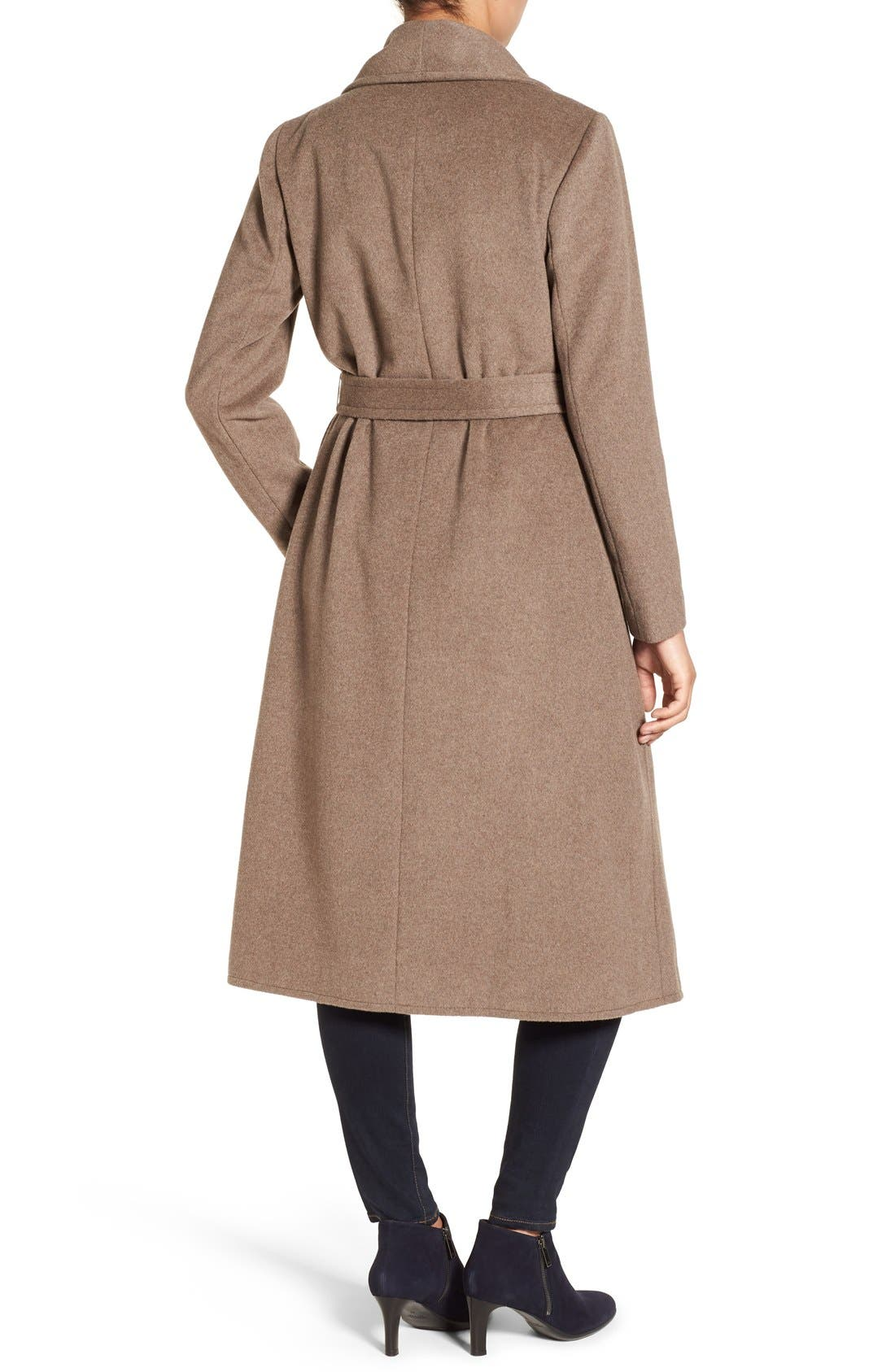 Alternate Image 2  - Cole Haan Signature Drape Front Wrap Coat