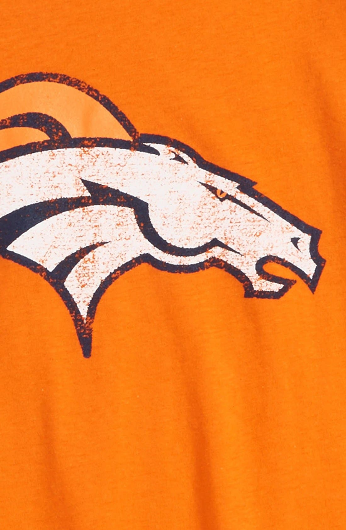 Alternate Image 2  - Outerstuff 'NFL - Denver Broncos' Distressed Logo Graphic T-Shirt (Toddler Boys, Little Boys & Big Boys)