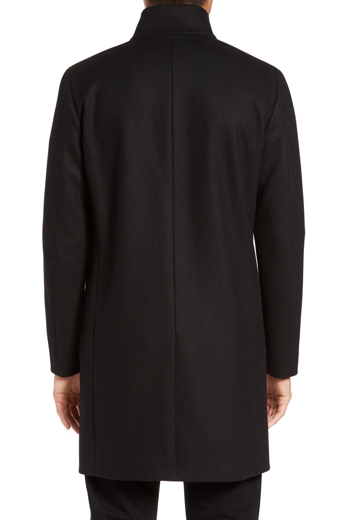 Alternate Image 2  - Theory 'Belvin' Wool Blend Car Coat