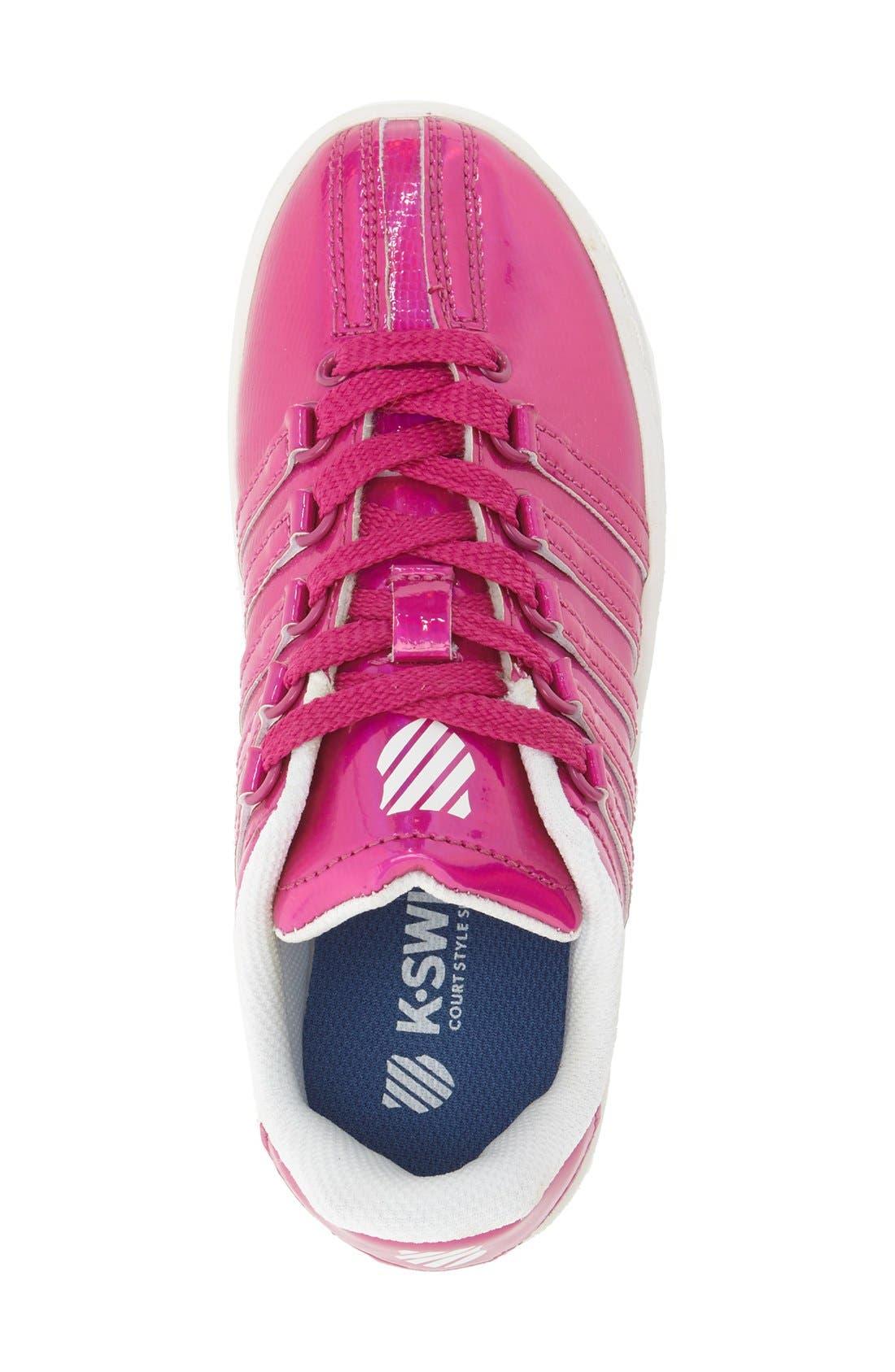 'Classic - Shine On' Sneaker,                             Alternate thumbnail 3, color,                             Pink/ White