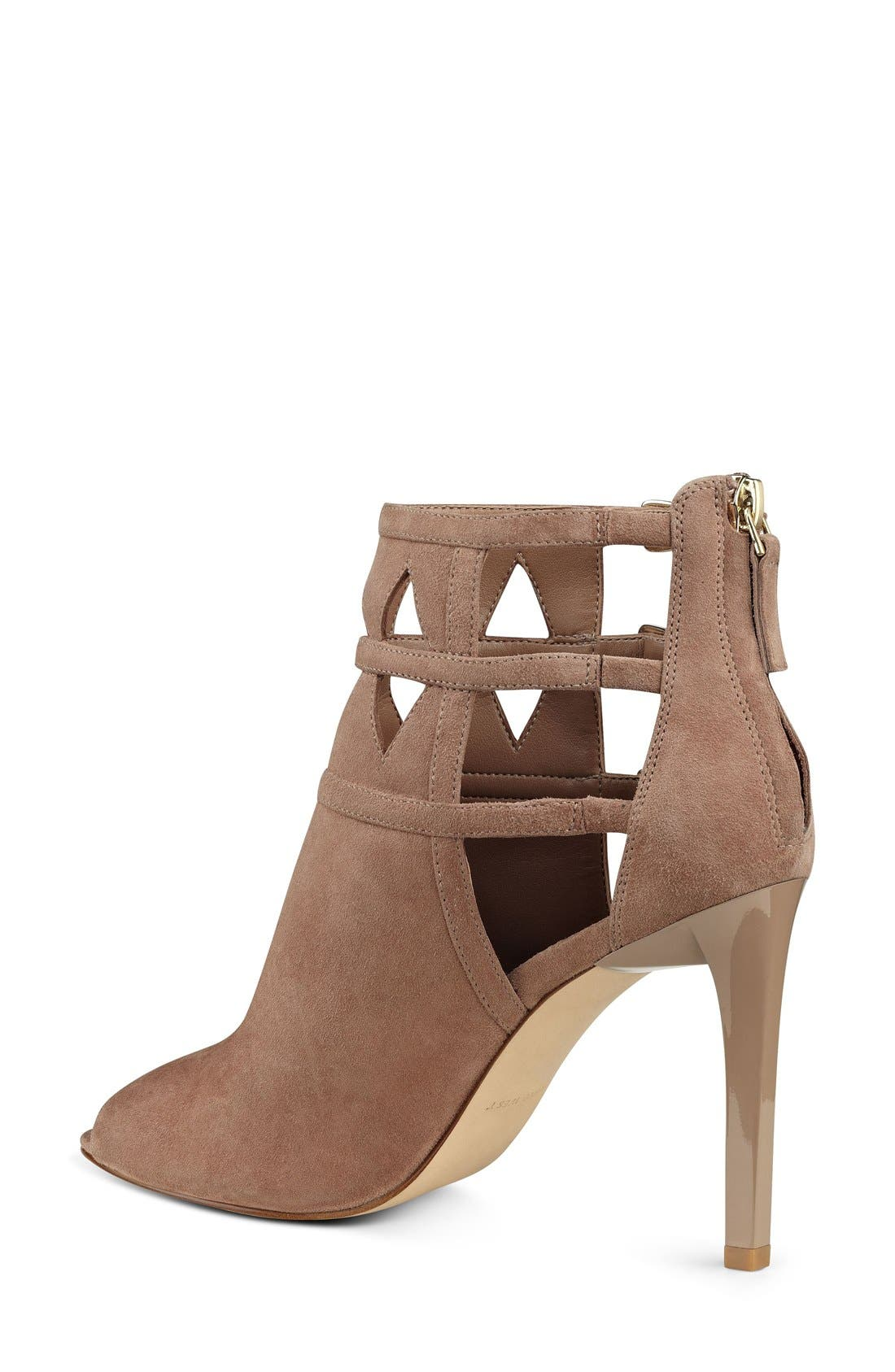 Alternate Image 2  - Nine West 'Laulani' Cutout Peep Toe Bootie (Women)