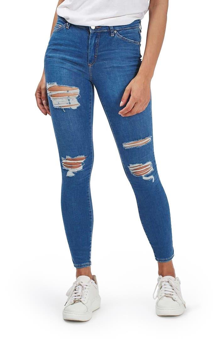 Shredded Jeans For Men